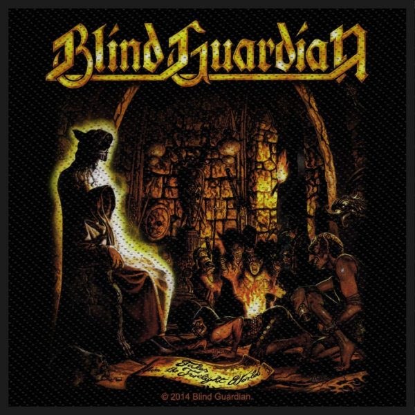 Blind Guardian Woven Patch Tales From The Twilight