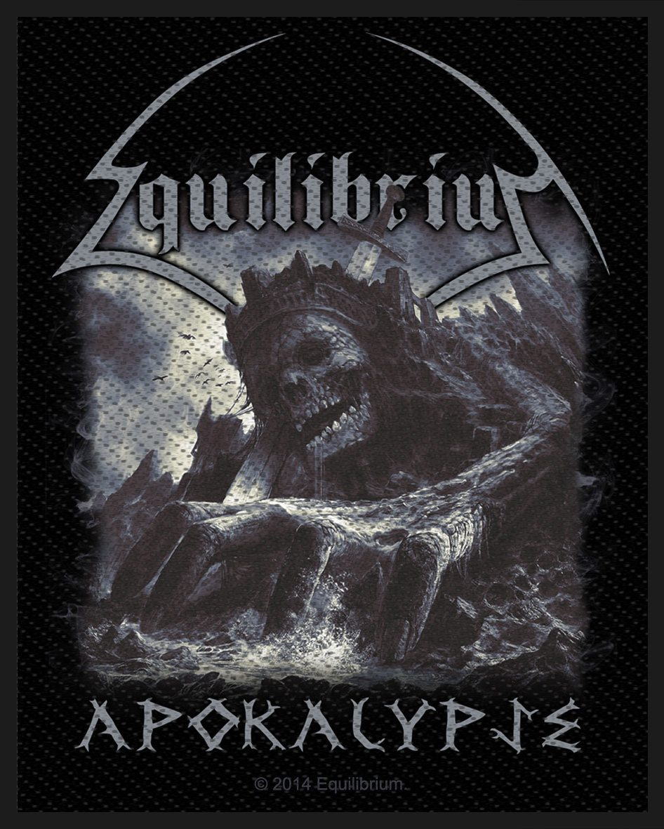 Equilibrium Woven Patch Apokalypse
