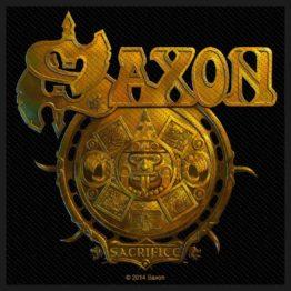 Saxon Woven Patch Sacrifice