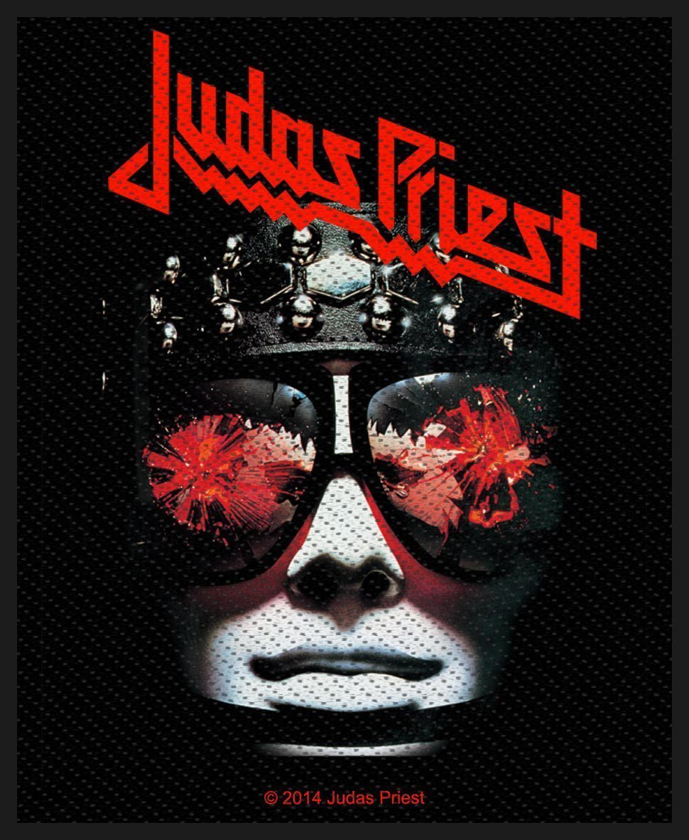 Judas Priest Woven Patch Hell Bent For Leather