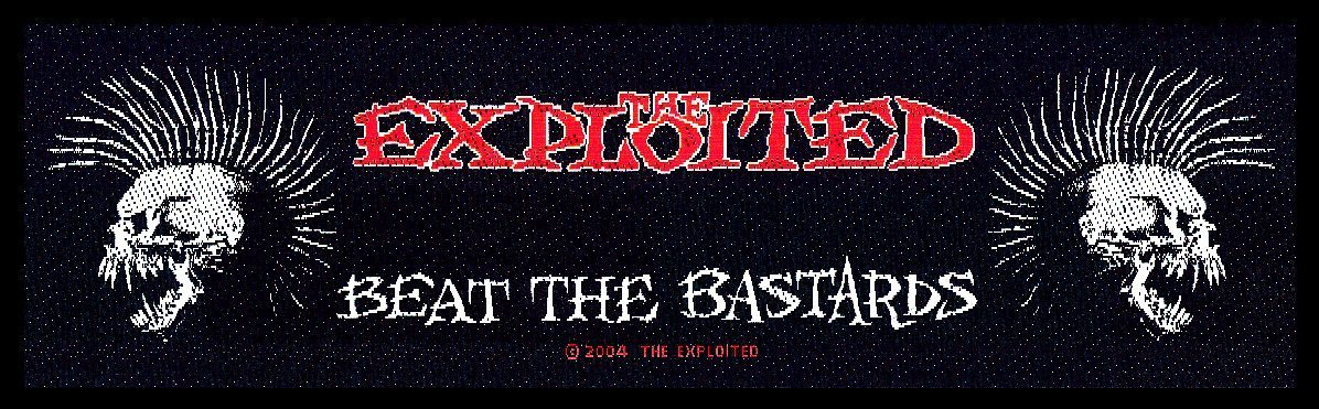 The Exploited Superstrip Beat the Bastards