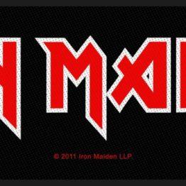 Iron Maiden Woven Superstrip Logo