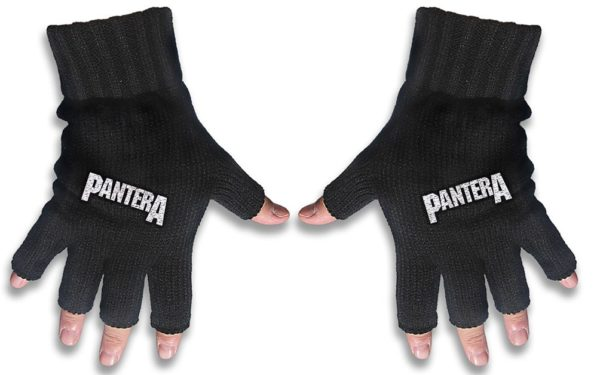 Pantera Embroidered Gloves Logo