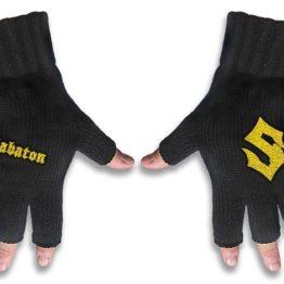 Sabaton Embroidered Gloves Logo