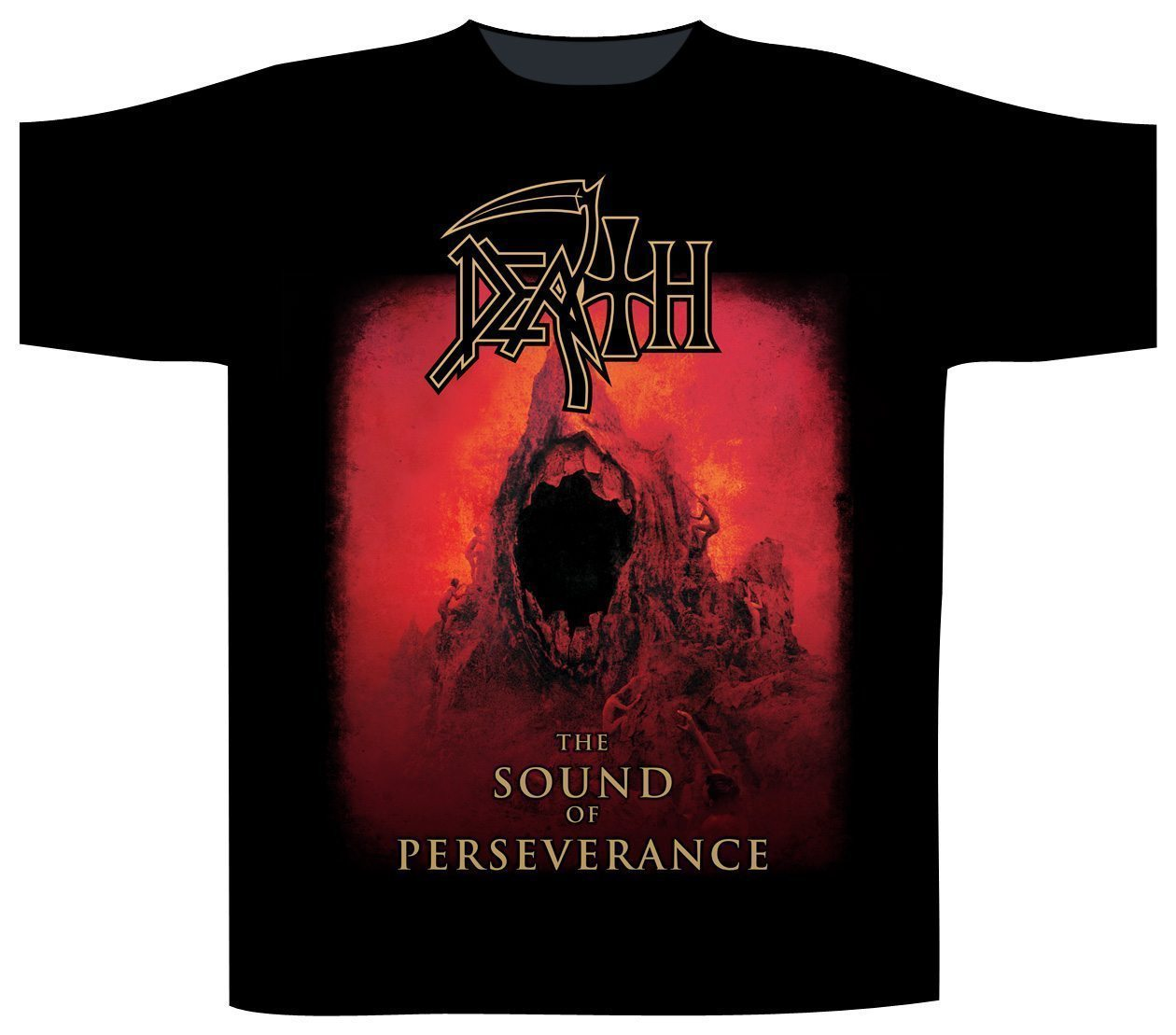 Death Shortsleeve T-Shirt The Sound Of Perseverance