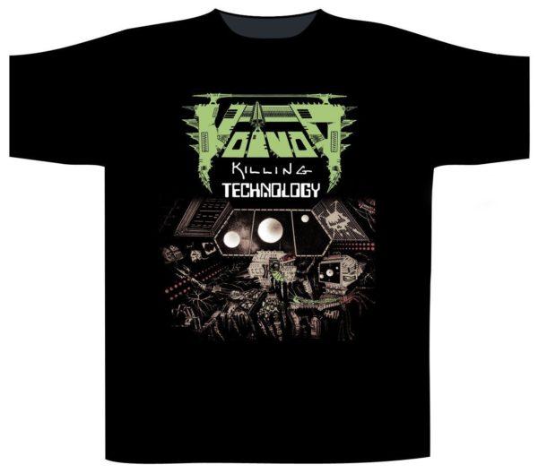 Voivod Shortsleeve T-Shirt Killing Technology