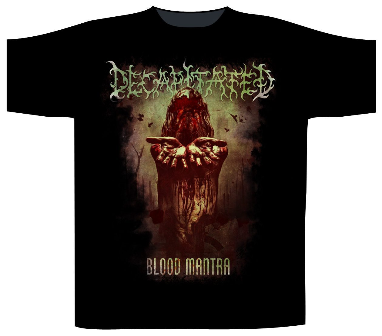 Decapitated T-Shirt Blood Mantra