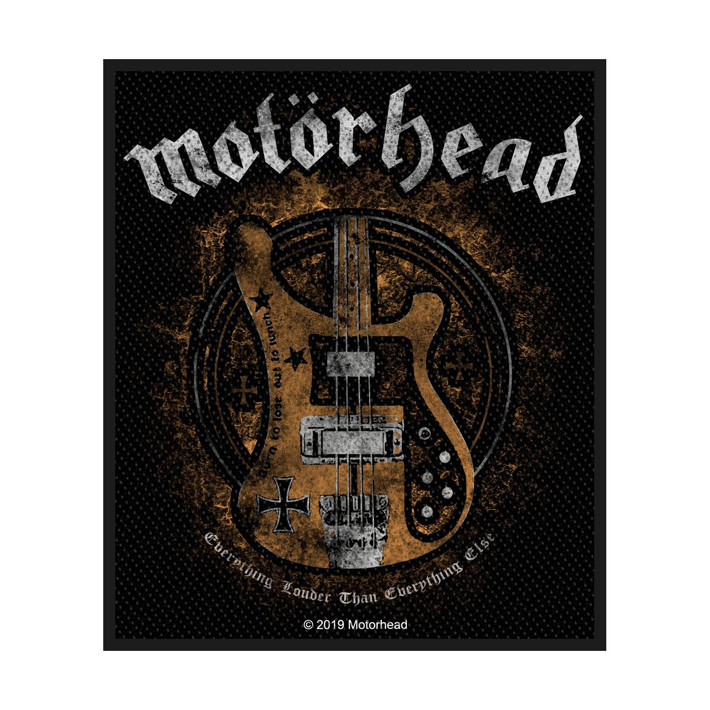 MOTORHEAD EVERYTHING LOUDER WOVEN PATCH