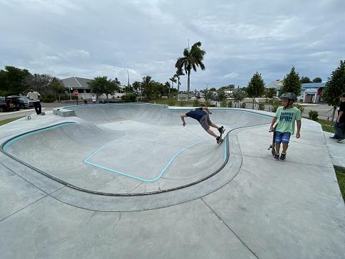 Holmes Beach Skate Park