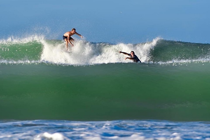 Anna Maria Island Stormy Surfing