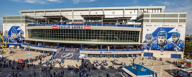 Amalie Arena Offers Wonderful Venue for Anna Maria, Florida