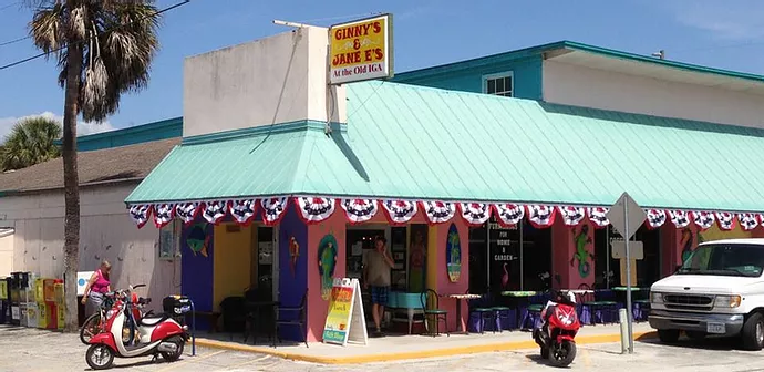 Ginny's and Jane E's at Old IGA Located in Anna Maria City