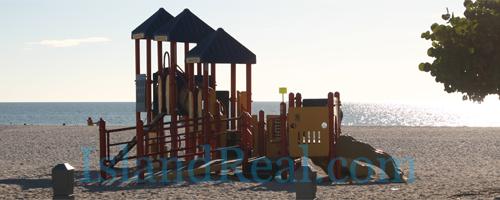 Manatee Public Beach and Playground on Anna Maria Island