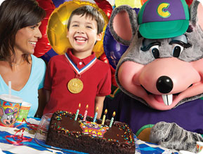 Chuck E Cheeses Is Short Drive From Anna Maria
