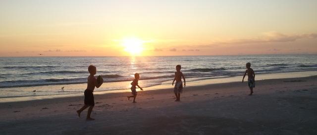 Kid's corner - beach