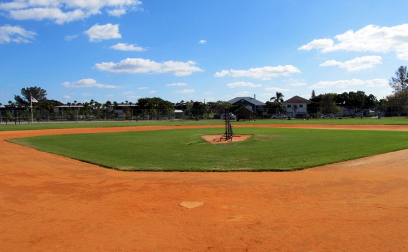 Baseball Softball Field Anna Maria Island