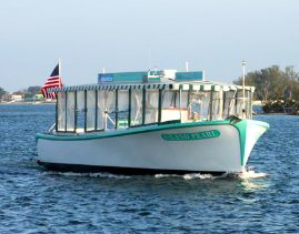 Anna Maria Island Water Shuttle and the Island Pearl