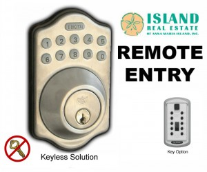 island real estate remote entry system