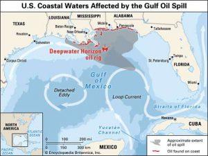 BP oil spill area