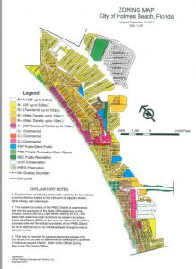 Holmes Beach Zones
