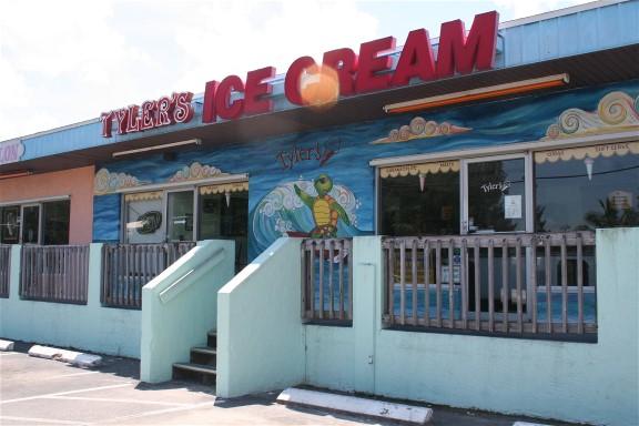 Tyler's Gourmet Ice Cream   Cortez Village, FL