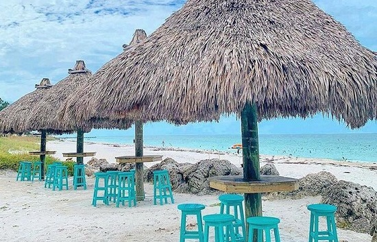 Dine with Your Toes in the Sand at Gulf Drive Cafe