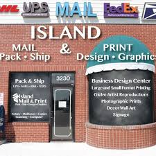 For Your Shipping, Scanning, & Printing Needs, Head Over to Island Mail & Print