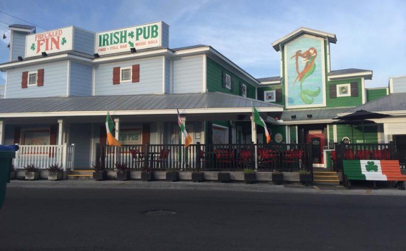 The Freckled Fin Irish Pub in Holmes Beach