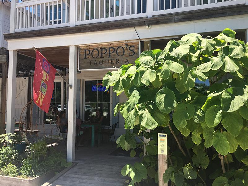 Poppo's Taqueria on Pine Ave