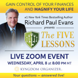 The Five Lessons LIVE @ Zoom Video Conference
