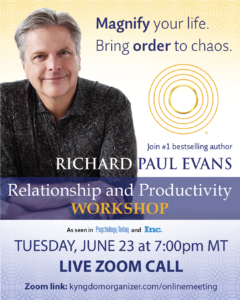 Relationship and Productivity Workshop with Richard Paul Evans