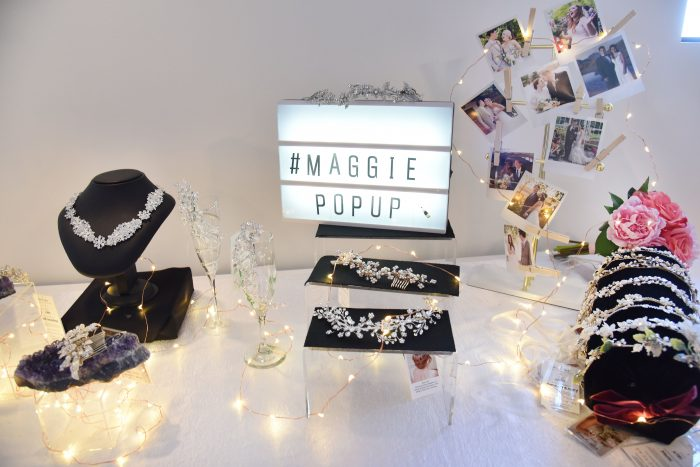 Bridal Accessories at Maggie Pop Up Event