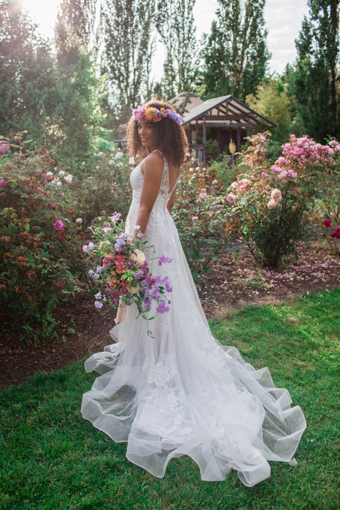 How To Style Curly Hair For Your Wedding Curly Wedding Hairstyles