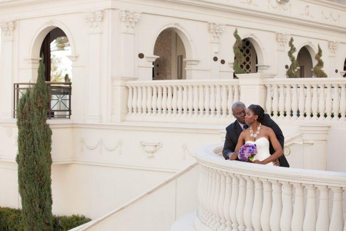 Real Bride and Groom in Las Vegas