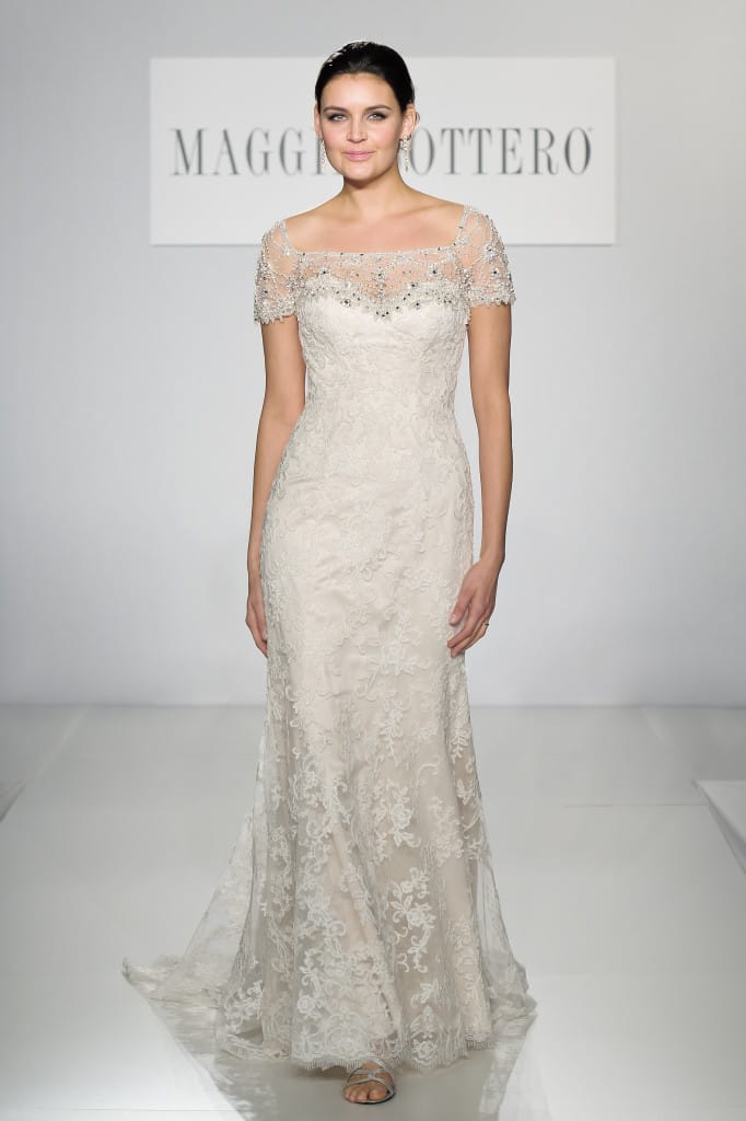 Spring 2014 New York Bridal Fashion Week - Chesney by Maggie Sottero