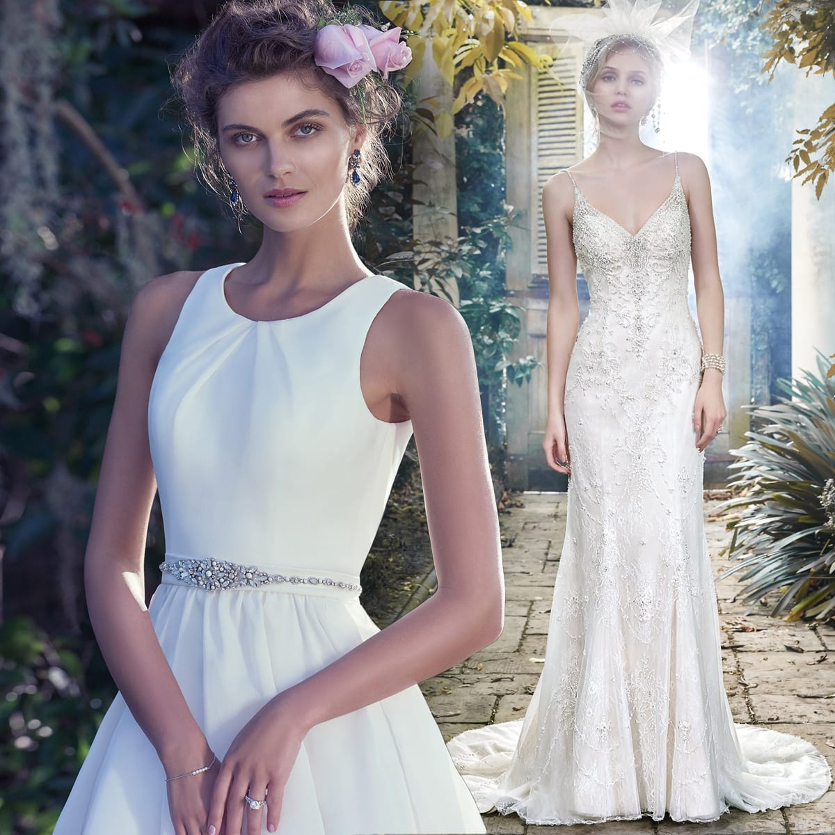 Maggie Sottero's guide to pairing your wedding dress with the perfect reception dress