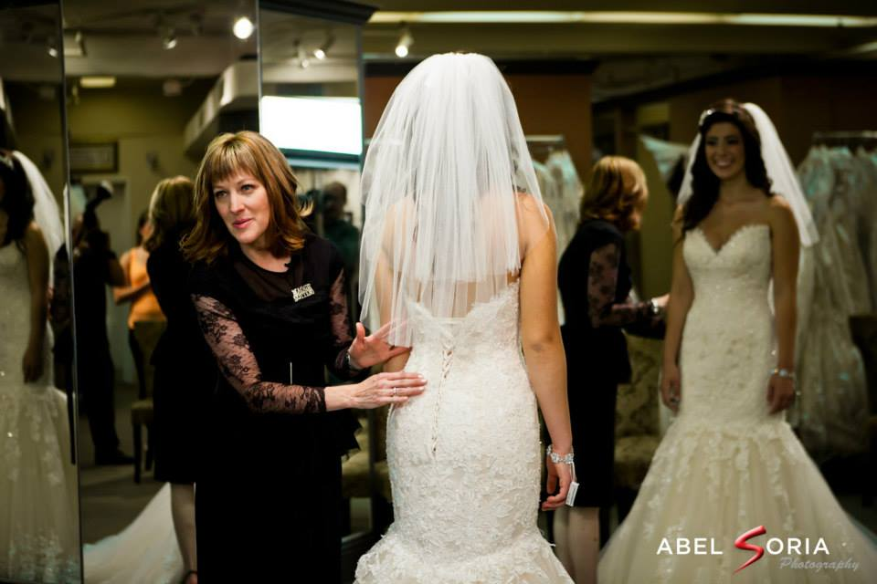Want the perfect fit? Read our tips for wedding dress alterations!