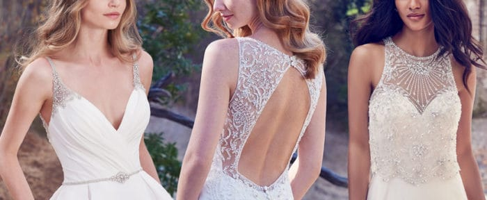 Uniquely Detailed Wedding Dresses from Maggie Sottero, Sottero and Midgley and Rebecca Ingram