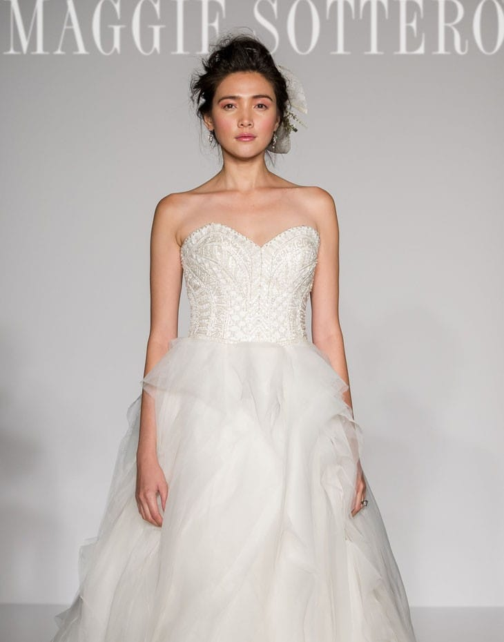 OHara by Maggie Sottero for New York Bridal Fashion Week. See more of our top 10 wedding dresses on Love, Maggie!