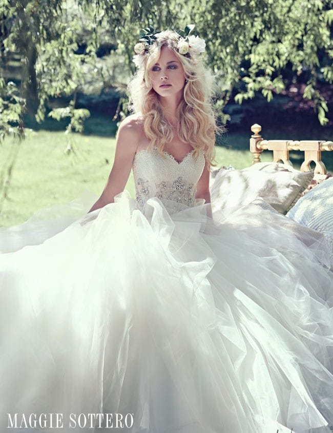 Fairytale wedding dress by Maggie Sottero