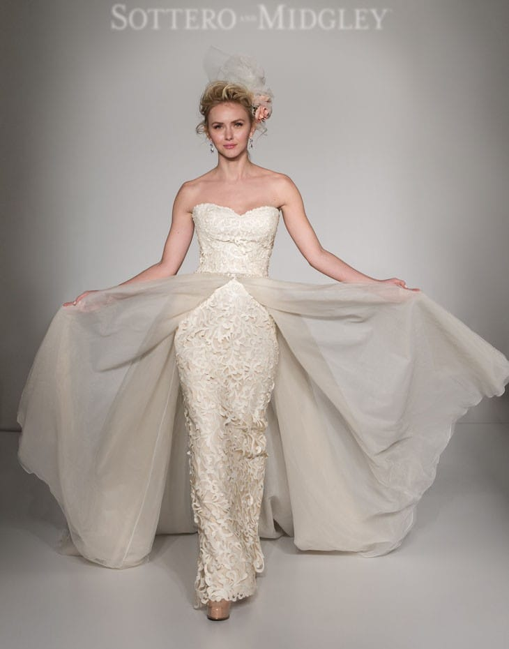 Kristen by Sottero and Midgley for New York Bridal Fashion Week