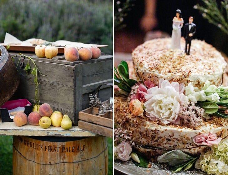 Fall wedding foods
