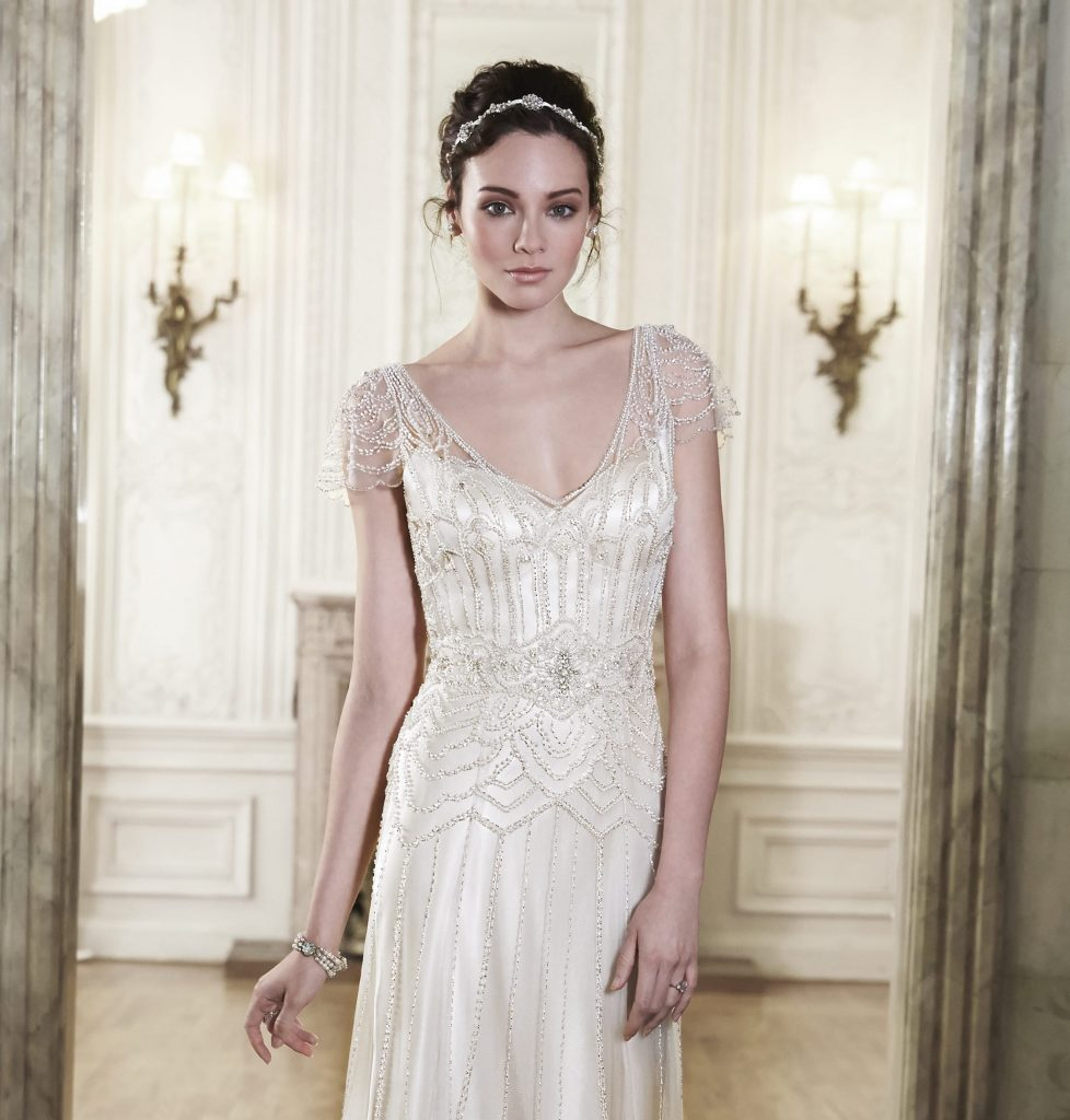 Vintage Wedding Dresses Usa: Great Gatsby Inspired Wedding Dresses To Fall In Love With