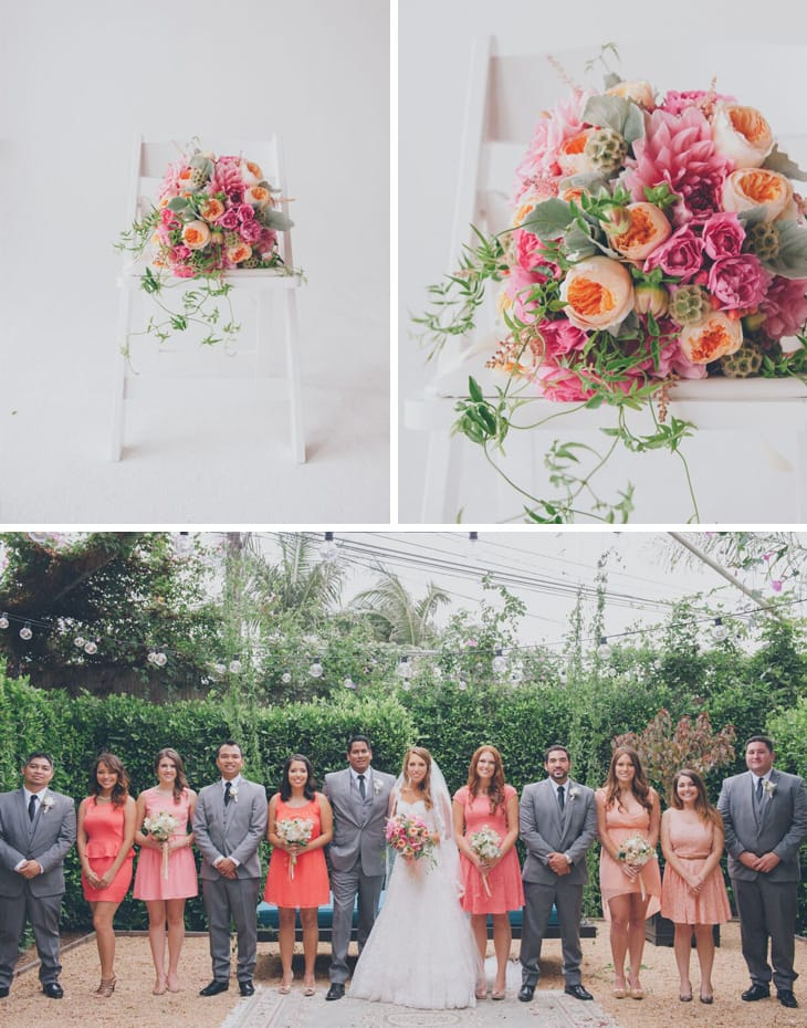 Happy Los Angeles wedding - Maggie Sottero