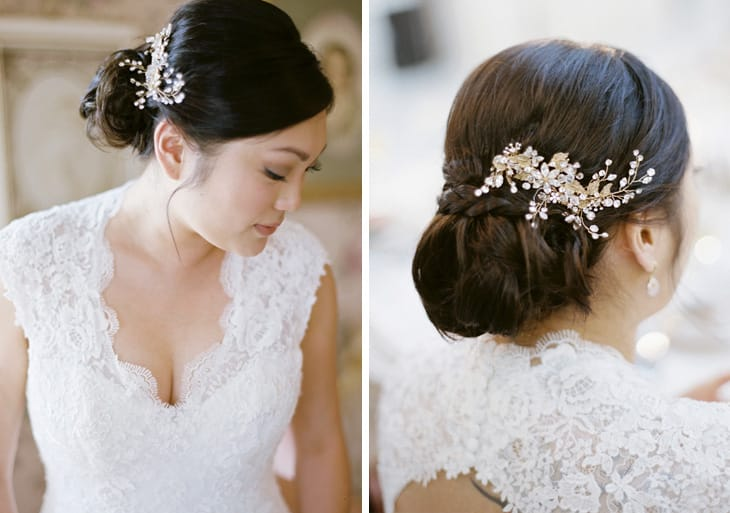 five wedding day hairstyles from Maggie Sottero