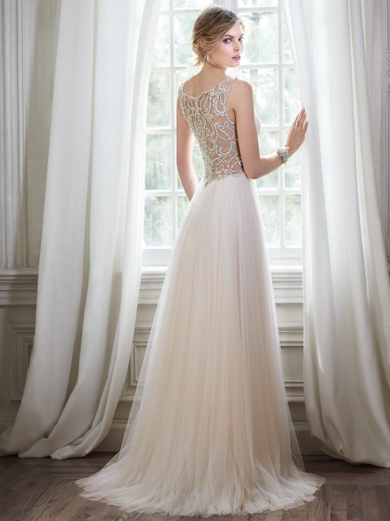 favorite wedding dresses of 2015 - Phyllis by Maggie Sottero