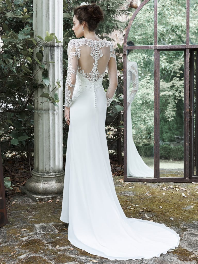 Vaughn wedding dress by Maggie Sottero