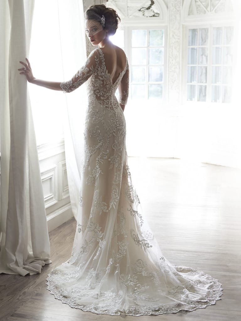 favorite wedding dresses of 2015 - Verina by Maggie Sottero
