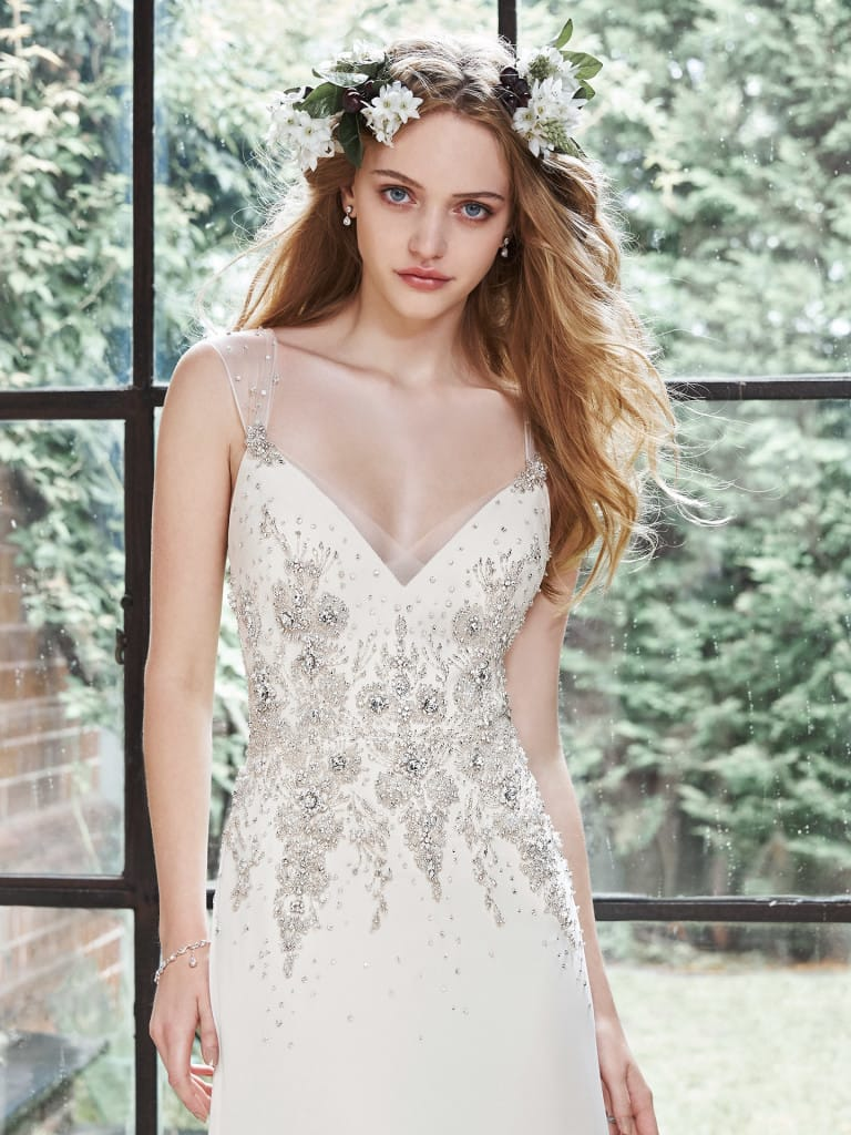 favorite wedding dresses of 2015 - Zarina by Desiree Hartsock with Maggie Sottero