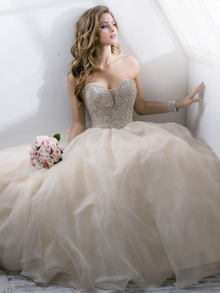 favorite wedding dresses of 2015 - Angelette by Sottero and Midgley